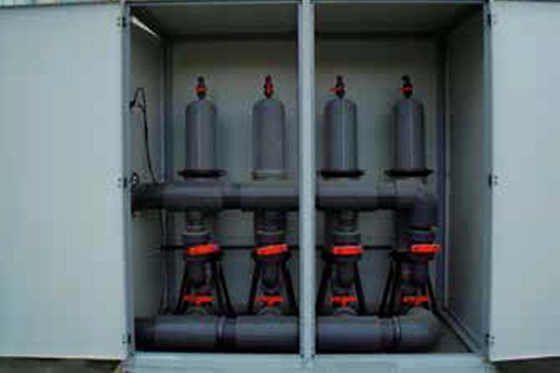 Bombas dosificadoras electromagnéticas con válvulas - Aqua
